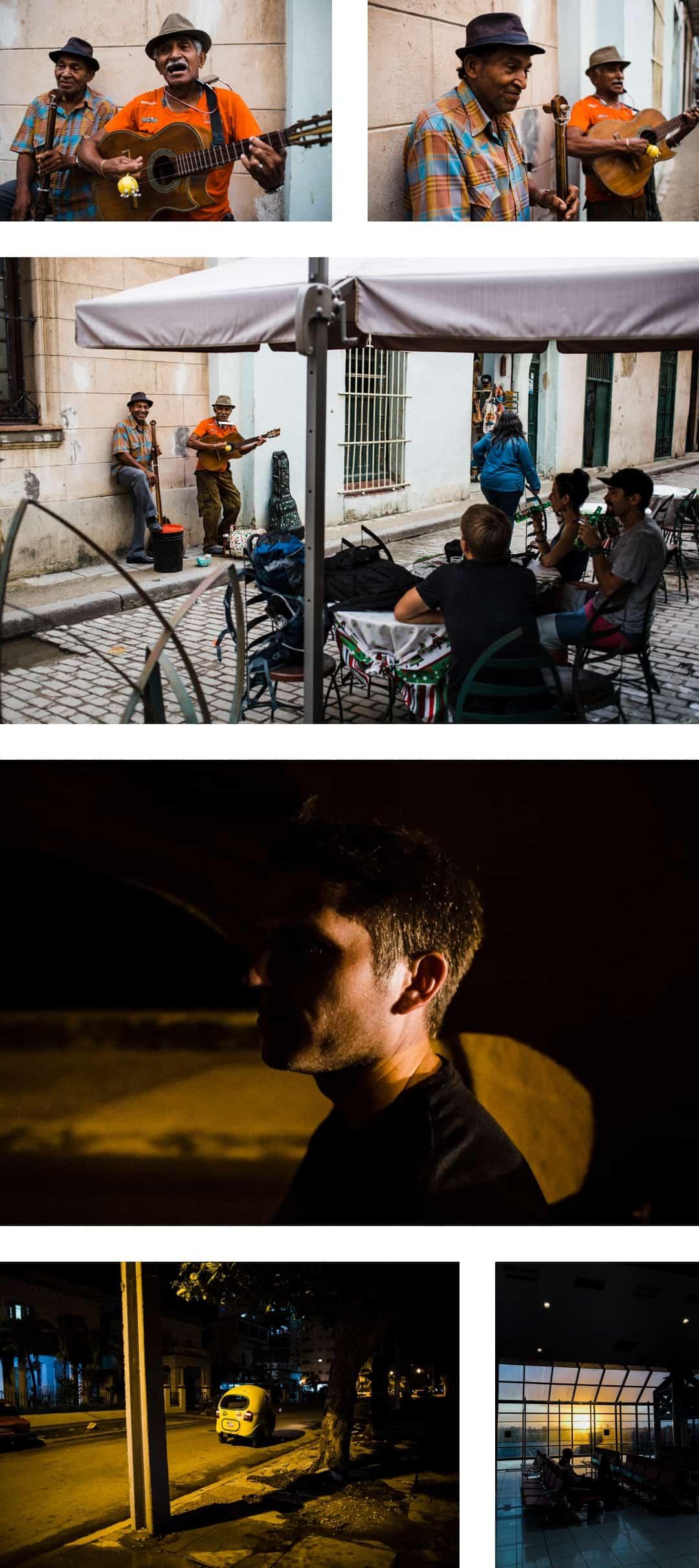 Last night in La Habana, Cuba