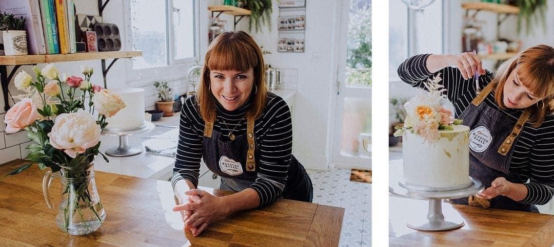 Portrait of Ellie, Sussex wedding cake maker