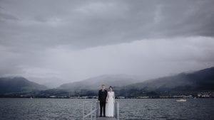 WEDDING photo of Aurelia & Joni By Zurich Lake
