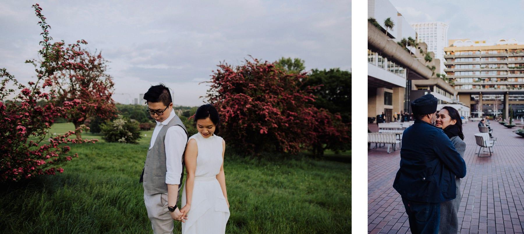 Wedding photos in London